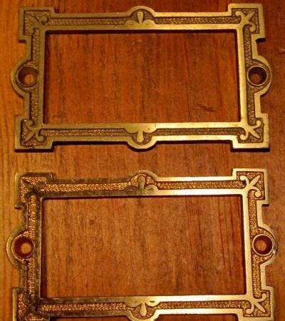 Card File Plate