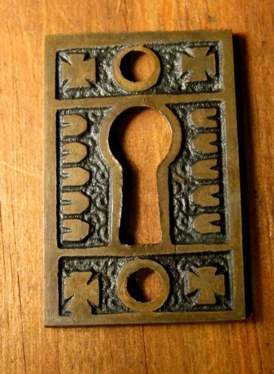Bronze Key Cover