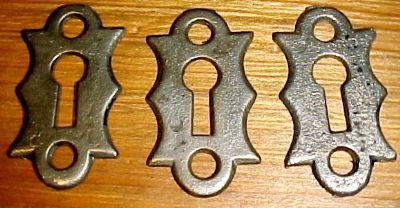 Iron Key Hole Covers