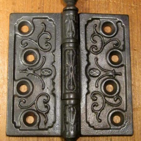 Cast Iron Hinge 4x4