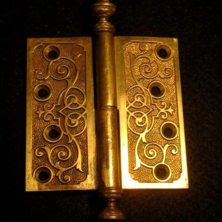 "Bronze Door Hinge 4""x4""L"