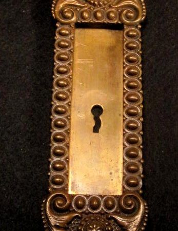 Bronze Pocket Door Pull R&E