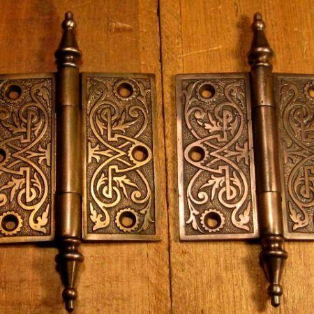 Iron Door Hinge 4x4