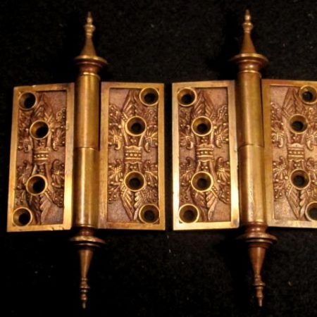 "Bronze Door Hinges 3""x3"""