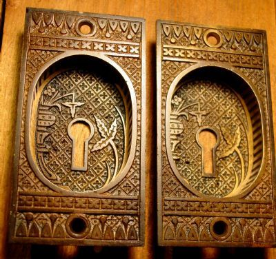 Brass Pocket Door Pulls