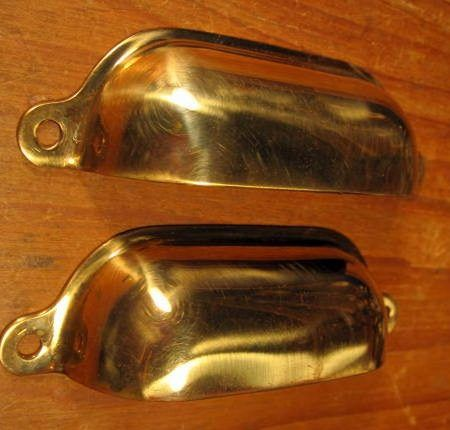 Bronze Bin Pull