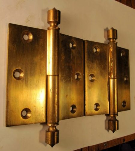 """Bronze 4""""x4"""" Door Hinges"""