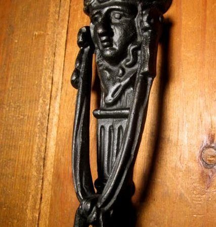Iron Figural Door Knocker