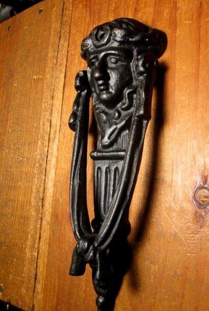 Iron Figural Door Knocker