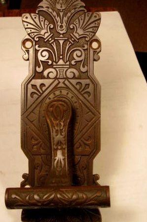 Bronze Door Bell Pull Lever