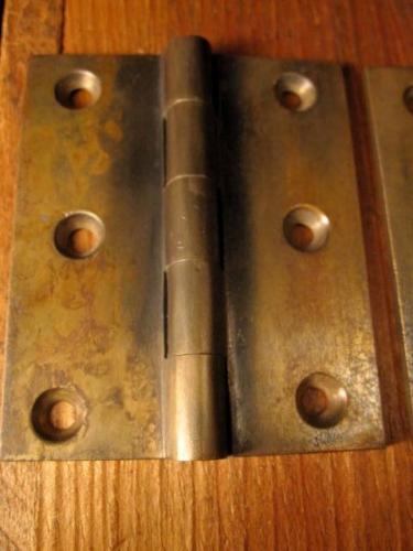Early Brass Butt Door Hinges 3 X 2 1 2 Eh 020 Classic