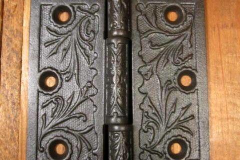 """4""""x4"""" Iron Door Hinge"""