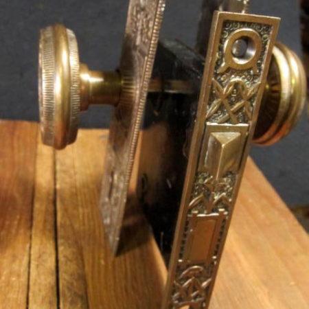 Bronze Door Knob Set