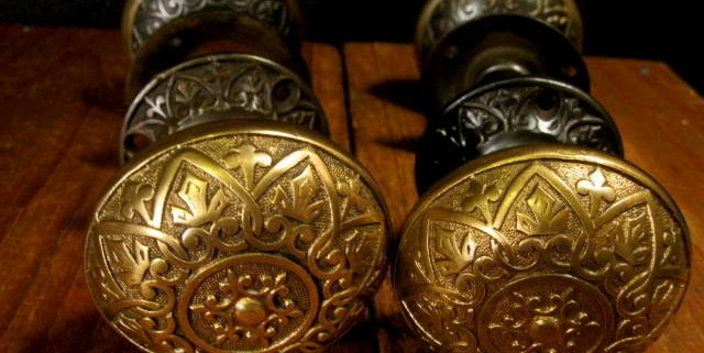 Bronze Iron Door Knob Sets