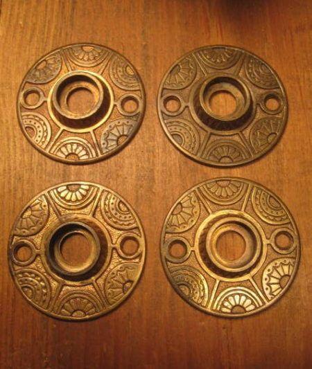 Cast Bronze Rosettes