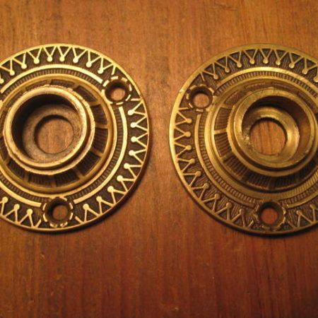 Bronze Rosettes Door Hardware