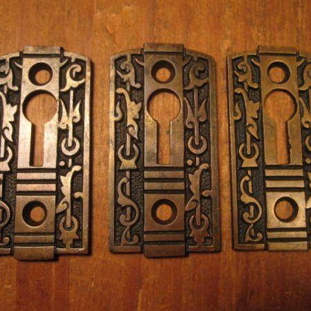 Bronze Key Hole Covers