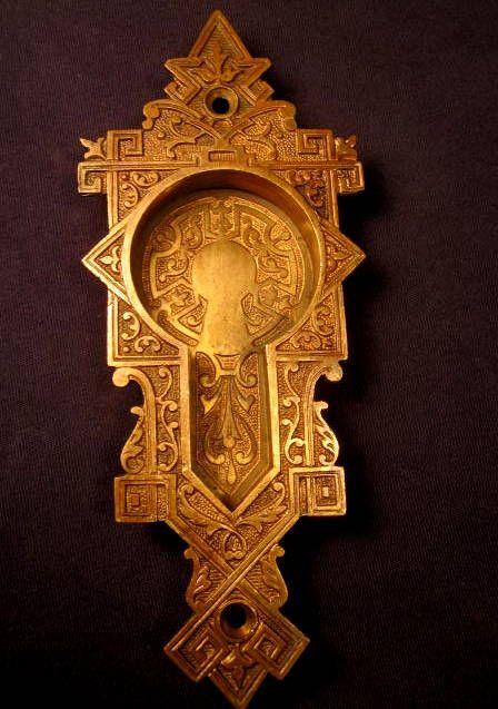 Bronze Pocket Door Pull