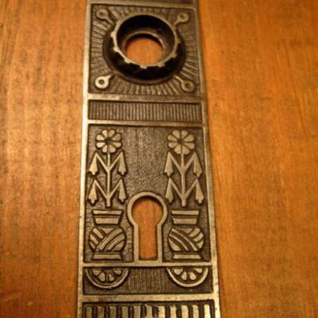 Cast Iron Door Plate