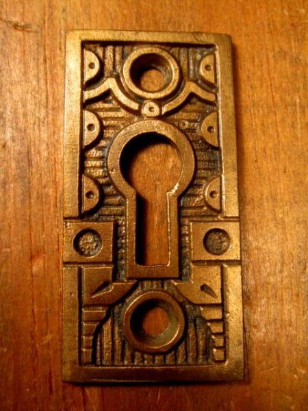Bronze Key Hole Cover