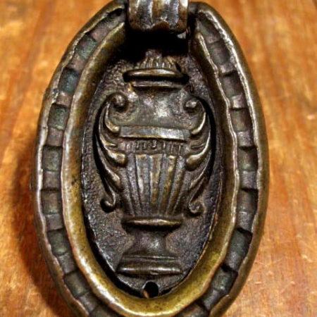 Bronze Single Hole Drawer Pull