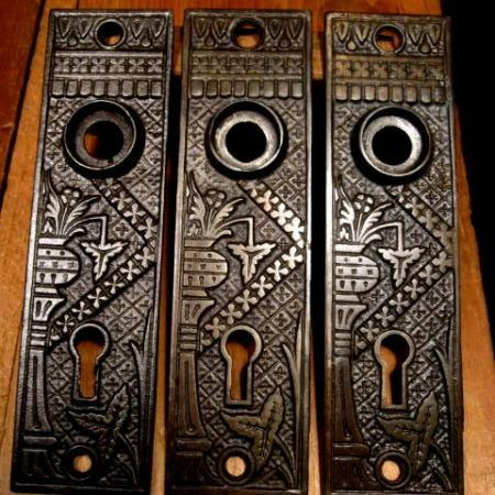 Iron Door Plates