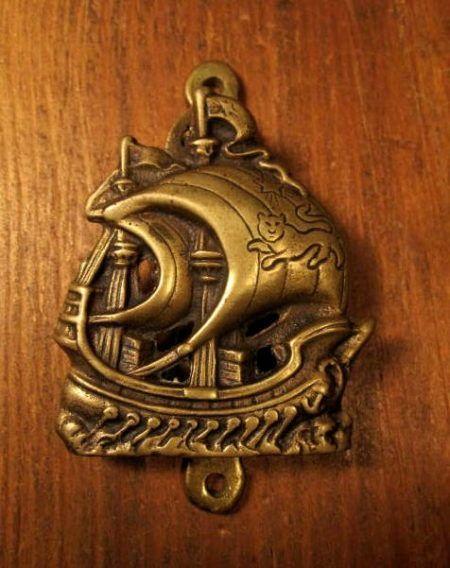 Small Brass Door Knocker