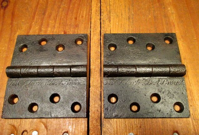 "Early Butt Hinges 3-1/2"" x 4"""
