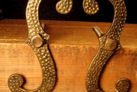 Brass S Shutter Hooks