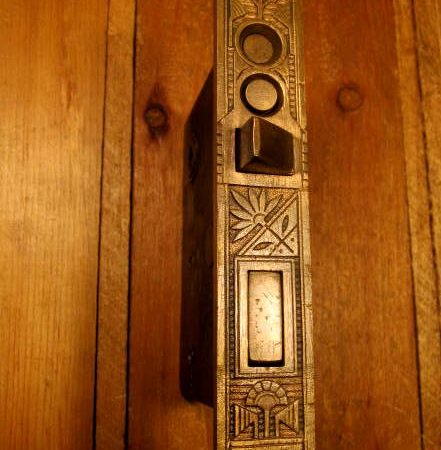 Bronze Exterior Door Mortise Lock