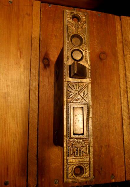 Bronze Exterior Door Mortise Lock