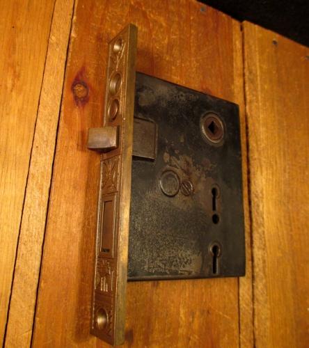 Bronze Exterior Door Mortise Lock ... & Bronze Exterior Door Mortise Door Lock NHC-029 - Classic Home Hardware