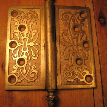 Bronze Door Hinge