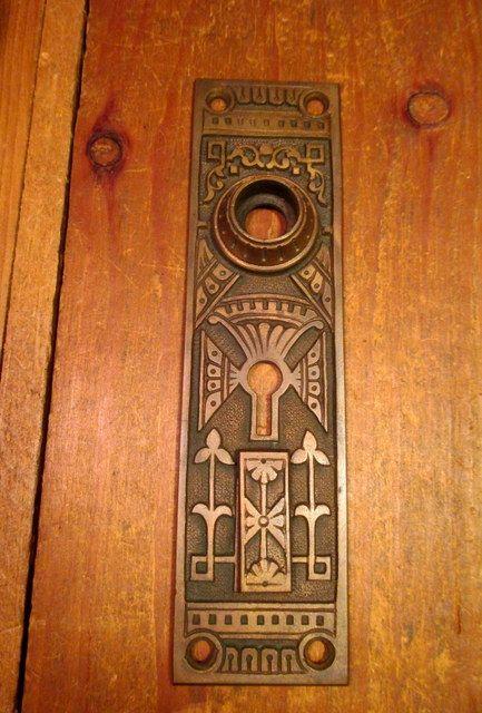 Bronze Exterior Door Plate