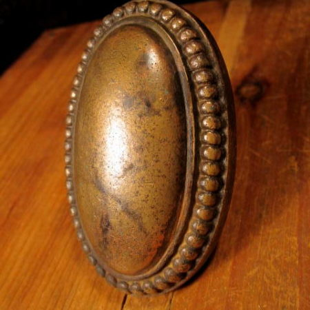 Large Oval Door Knob