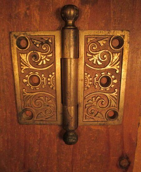 """3"""" Bronze Door Hinge"""