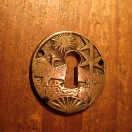 Bronze key Hole Escutcheon