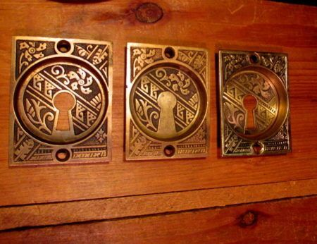 Bronze Pocket Door Pull Hardware
