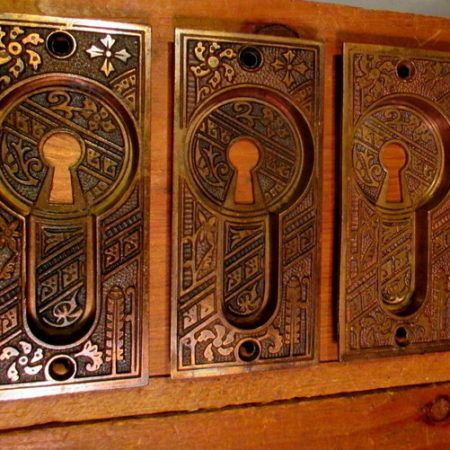 Bronze Pocket Door Pulls