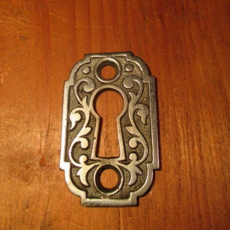 Key Cover Nickel Plated
