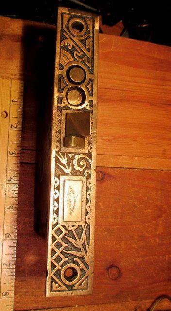 R&E Bronze Exterior Door Mortice Lock