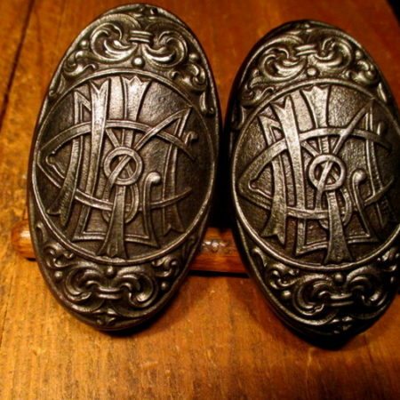 Iron Emblematic Door Knob