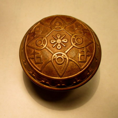Bronze Exterior Door Knob Norwalk