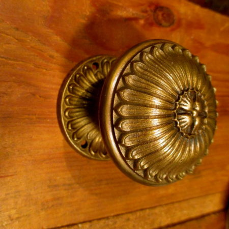 Brass Interior Door Knob