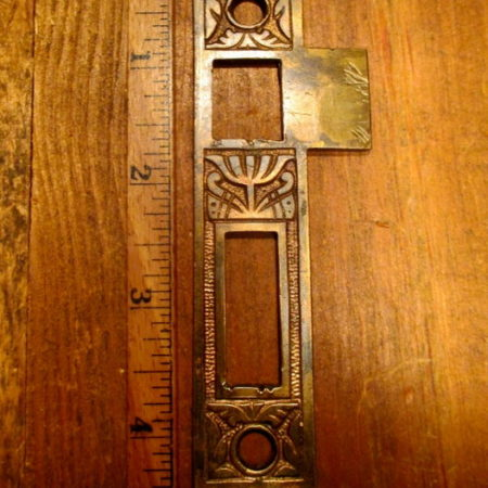 Brass Door Strike Plate