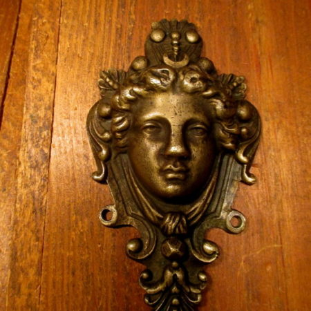 Bronze Figural Applique