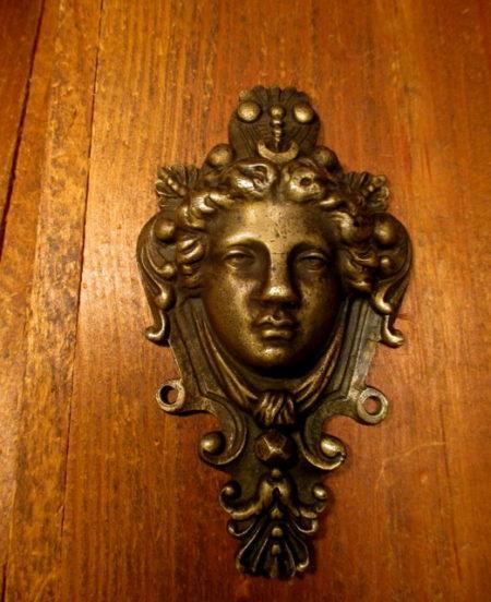 Bronze Figural Applique
