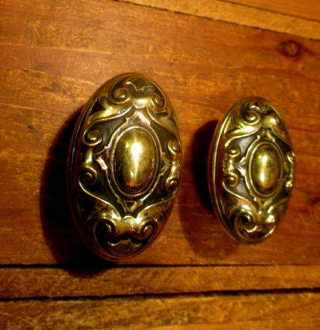Brass Exterior Door Knob Set YALE