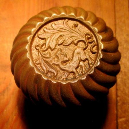 Exterior Bronze Knob Corbin Empire