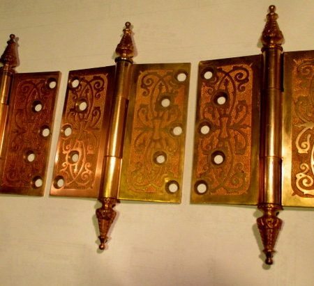 5 x 5 Bronze Door Hinge